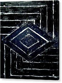 Black Diamonds Acrylic Print by Kazuya Akimoto
