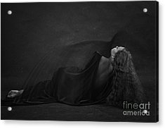 Black Dress Acrylic Print