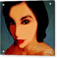 Black-eyed Beauty Acrylic Print