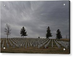 Black Hills Cemetery Acrylic Print