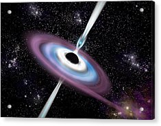 Black Hole 1a Acrylic Print