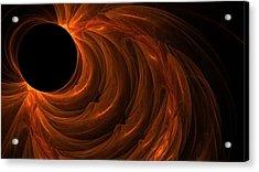 Black Hole Acrylic Print by Lourry Legarde
