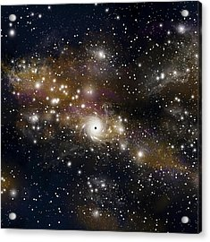 Black Hole No.4 Acrylic Print by Marc Ward