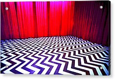 Black Lodge Blues Acrylic Print