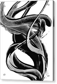 Black Magic 314 By Sharon Cummings Acrylic Print by Sharon Cummings