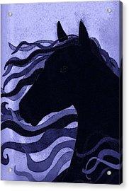 Black Magic Acrylic Print