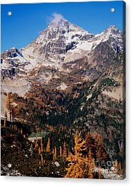 Black Peak Above Maple Pass Acrylic Print