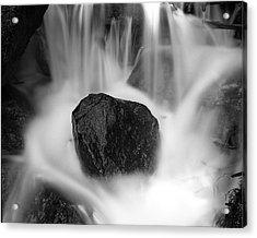 Black Rock And Water Yosemite Acrylic Print by Joe  Palermo