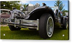 Acrylic Print featuring the photograph Black Rod by Mick Flynn