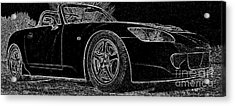 Black S2000 Acrylic Print