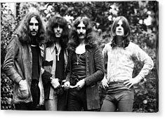 Black Sabbath 1970 Acrylic Print
