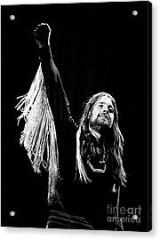 Black Sabbath Ozzy 1977 Acrylic Print