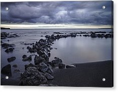 Big Island - Black Sand Beach Acrylic Print