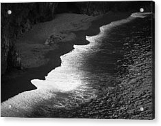 Acrylic Print featuring the photograph Black Sands by Brad Brizek