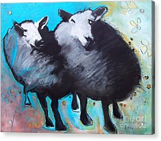 Black Sheep Acrylic Print