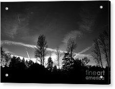 Black Sky Acrylic Print