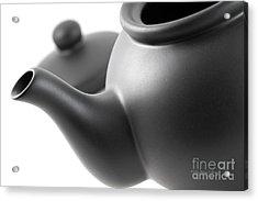 Black Teapot Acrylic Print
