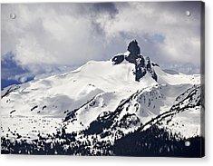 Black Tusk Peak Acrylic Print