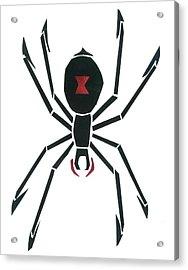 Black Widow Acrylic Print by Earl ContehMorgan