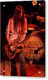 Blackberry Smoke Guitarist Charlie Starr Acrylic Print