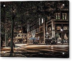 Blackhawk Hotel Acrylic Print by Ray Congrove