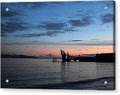 Blackrock After Sunset Acrylic Print