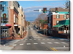 Blacksburg Virginia Acrylic Print by Melinda Fawver