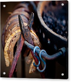 Blacksmith Tools Acrylic Print