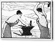 Blacksmiths, 1900 Acrylic Print