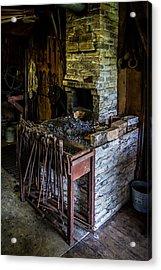Blacksmiths Forge Acrylic Print