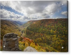 Blackwater Canyon Acrylic Print