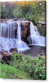 Acrylic Print featuring the photograph Blackwater Falls by Gordon Elwell