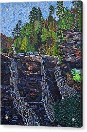 Blackwater Falls Acrylic Print by Micah Mullen