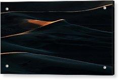 Blades Of Light Acrylic Print by Mohammad Shefaa