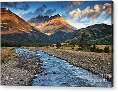 Blakiston Creek Acrylic Print by Mark Kiver
