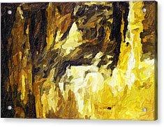 Blanchard Springs Caverns-arkansas Series 02 Acrylic Print by David Allen Pierson