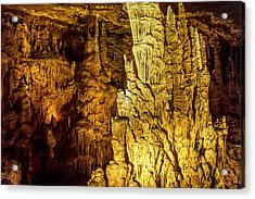 Blanchard Springs Caverns-arkansas Series 05 Acrylic Print by David Allen Pierson