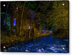 Blanchard's Mill Acrylic Print by Keith Kapple