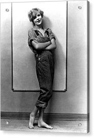 Blanche Sweet, Ca. Mid-1920s Acrylic Print