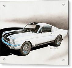 Blanco Shelby Acrylic Print by Paul Kim