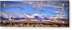Blanket Of Cold Acrylic Print