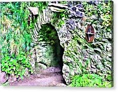 Blarney Cave Acrylic Print