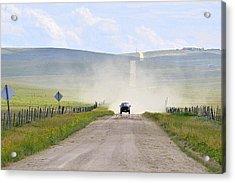 Blasingame Road   Acrylic Print