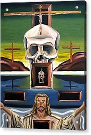Blasphemixition Acrylic Print by Ryan Demaree