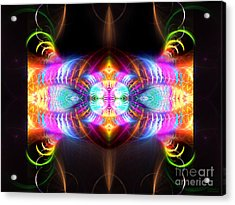 Blast Of Colors Acrylic Print