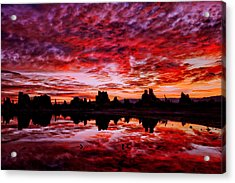 Blazing Dawn Acrylic Print