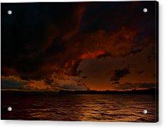 Blazing Glory Acrylic Print by Steven Richardson