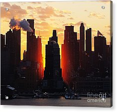 Blazing Morning Sun Acrylic Print
