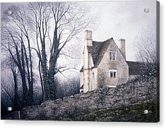 Acrylic Print featuring the painting Bleak House by Rosemary Colyer