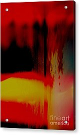 Acrylic Print featuring the photograph Bleed by Paul Foutz